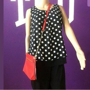 Women's Top Zip Cross Body Bag